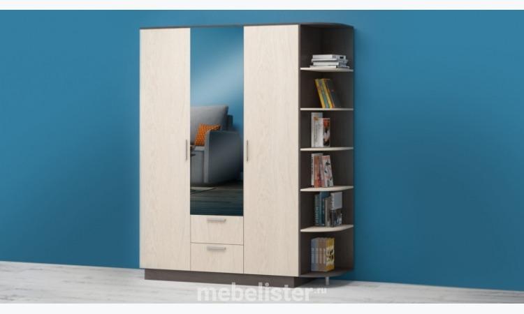 """Шкаф """"РИМ-150"""" (Венге/Дуб) от Многомебели. Шкаф"""