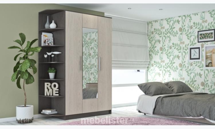 """Шкаф """"РИМ-120"""" (Венге/Дуб) от Многомебели. Шкаф"""