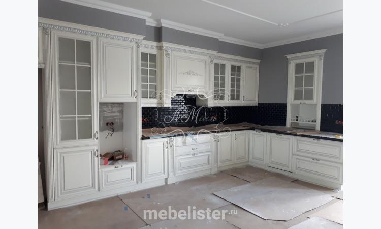 """Кухня """"Неаполь"""" от АМебель . Кухня, Кухня на заказ, Прямая кухня, Угловая кухня, П-образная кухня, Кухня из массива"""